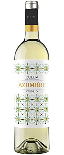 Vino Blanco Azumbre Verdejo D.O Rueda - 1 botella de 750 ml - Total: 750 mls