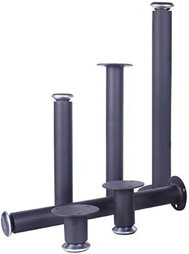 KISAD Patas de Muebles Patas de Mesa de Repuesto Muebles de Metal Mesa de pie Piernas DIY Sofá Ajustable Reemplazo Piezas de pie Piezas de Cabina Pies TV Mesa Mesa (Size : 15cm)