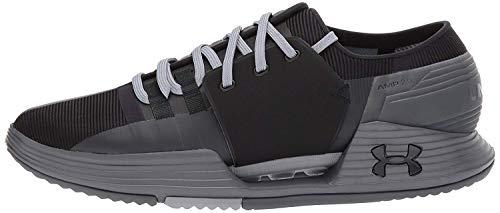Under Armour UA Speedform Amp 2.0, Zapatillas de Deporte Hombre, Negro (Black 003), 45 EU