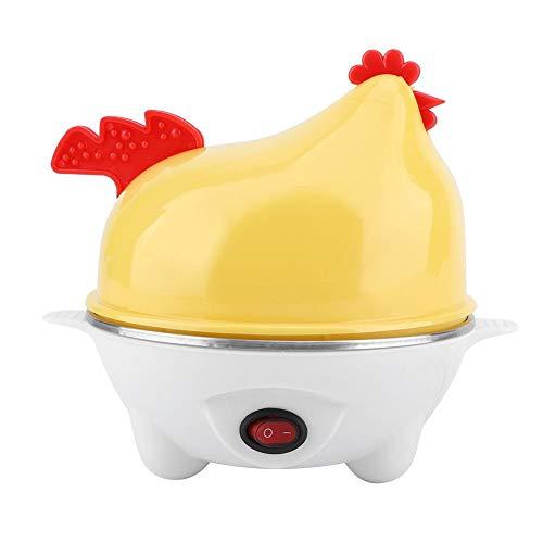 Elektrischer Eierkocher Egg Cooker Küken Muster Eierkocher Multifunktionsschale für Küche Frühstück Dampf Eier Mais Wachtel Ei