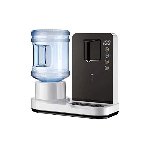 Sdesign Dispensadores de Agua Caliente de Agua de la Mesa, con termostato de hervidor rápido, Ajustable, Ideal para la Cocina para el hogar y la Oficina de Hacer té de café (Size : Black)