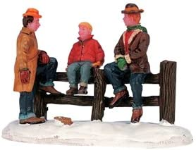 Free shipping on posting reviews New arrival Carole Towne Hangin' Around Figurine Village Christmas