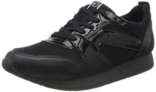 Tamaris Damen 1-1-23604-23 Sneaker, Blau (Navy Glam 834), 42 EU