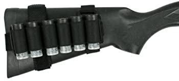 Specter Gear Winchester 1300/FN Police Buttstock Shell Holder with Rear Adapter Black