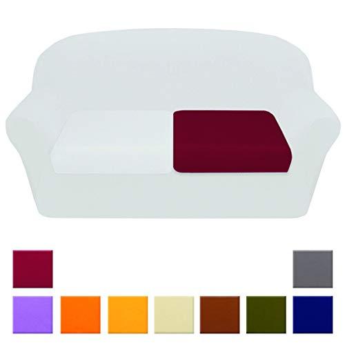 Funda de asiento de sofá universal, de tela elástica, en 3tamaños (1/2/3plazas), de alta calidad, 100% confeccionada en Italia