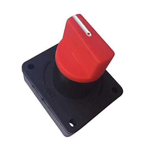 Yuema 12V 300A Autobatterie Haupttrennschalter Trennschalter, Batterie-Trennschalter, Schalter, Trennschalter, Batterieschalter, Hauptschalter, Batterietrennschalter Für KFZ PKW LKW Auto Marine Boot