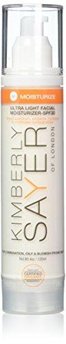 Kimberly Sayer Ultra Light Facial Moisturizer SPF 30 - For Oily and Acne-Prone Skin, 4 Oz