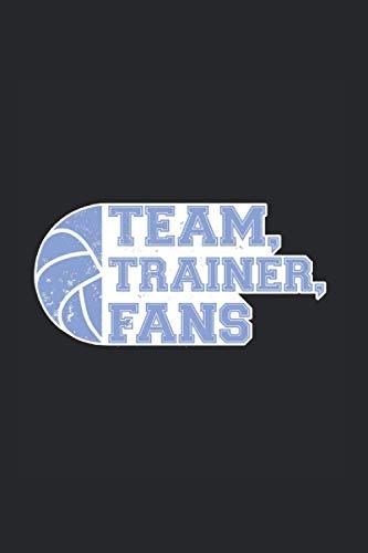 Team Trainer Fans: Din A5 Handball Notizbuch Mannschaftssport Geschenk mit 120 Seiten