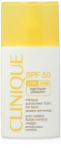 Clinique Protector Solar Mineral Fluido para Cara SPF50-30 ml