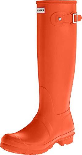 HunterOriginal Tall - Stivali da Donna, Alti Donna, Rosso (Rot (Tent Red)), 38 EU