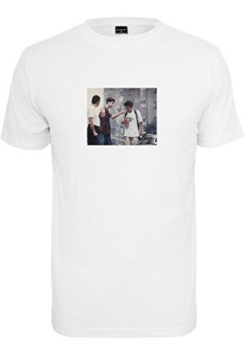 Mister Tee Herren Peanutbutter T-Shirts, White, S