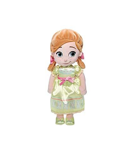 DS Disney Store Plush Doll Anna Baby Princess by Arendelle Frozen Original