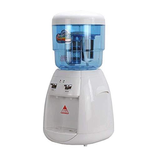 UWY Mini Petit Refroidisseur d'eau à Chargement par Le Haut avec Filtre à Seau d'eau, Distributeur de Refroidisseur d'eau de comptoir (Couleur: Blanc)