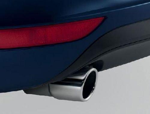 Auspuffblende VW Passat B7 Original Zuning Zubehör Blende Endrohr Chrom