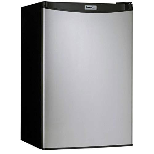Danby Designer 4.4 Cubic Feet Compact Refrigerator (DCR044A2BSLDD-3) Steel