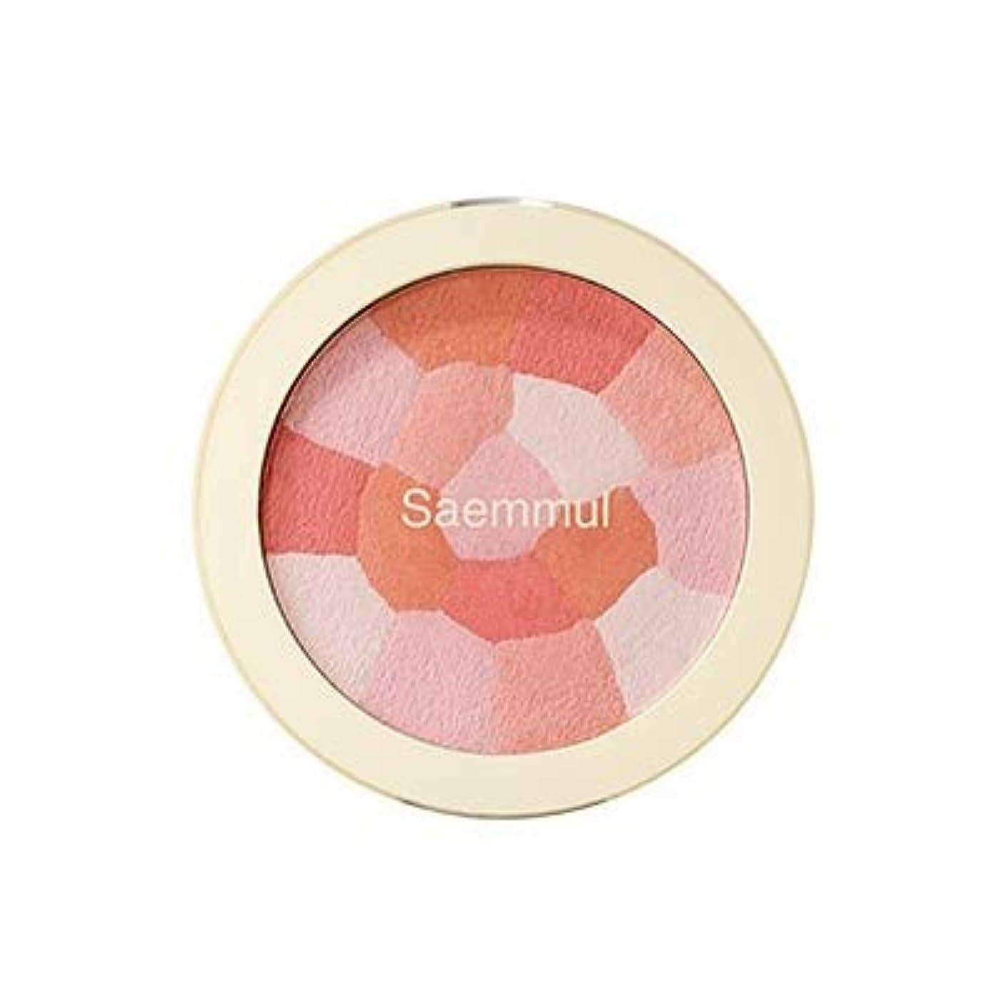 隔離する顕著冷凍庫theSAEM ザセム セムムル ルミナスマルチチークブラッシャ 8g Luminous Multi-Blusher