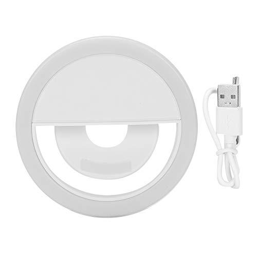 Luz de Selfie para teléfono Celular, luz de Relleno de Flash LED de Moda con Clip para teléfono Inteligente