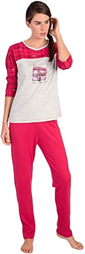 DataPrice Pijama Massana de Mujer. Pijama Invierno de Punto