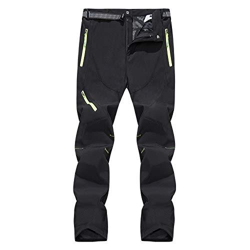LHHMZ Pantalones de Senderismo al Aire Libre para Hombre Cómodo Transpirable Pantalones para Caminar Primavera otoño Verano Pantalones Casuales