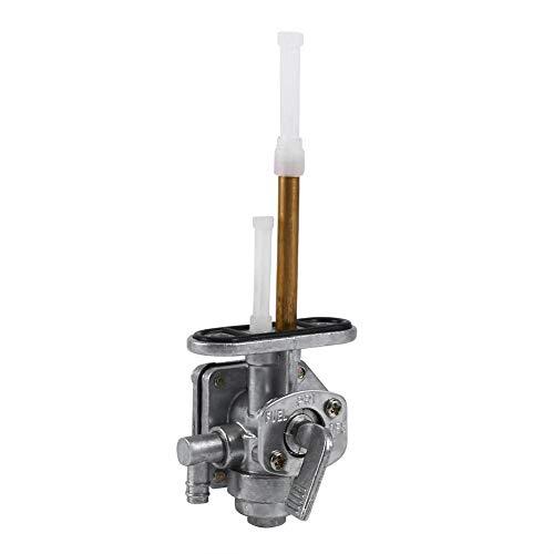 Interruptor de tanque de combustible de gasolina de gas Keenso, conjunto de interruptor de válvula de grifo de combustible de motocicleta
