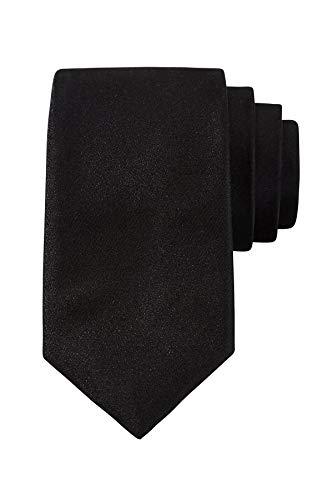 Royal Suits | Goldkollektion | Luxuriöse Seiden-Krawatte in Schwarz für alle Anlässe inkl. einzigartiger Geschenkverpackung