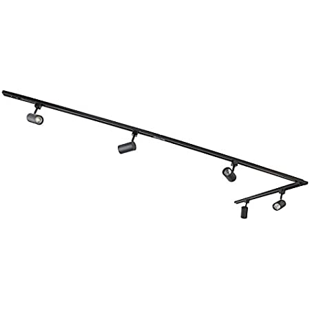 Qazqa Plafonnier | Lampe au plafond Moderne - Jeana Lampe Noir - GU10 - Convient pour LED - 5 x 50 Watt