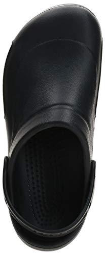 Crocs Bistro Unisex Adulta Clog, Negro (Black), 42/43 EU