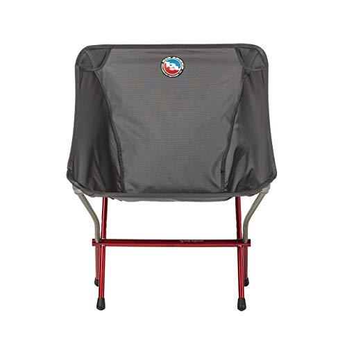 BIG AGNES Mica Basin Chair, Asphalt Camp Furniture, One Size