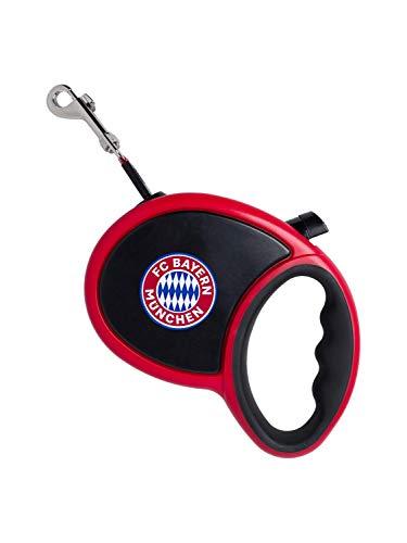 FC Bayern München Rollleine mit Handgriff, Hundeleine