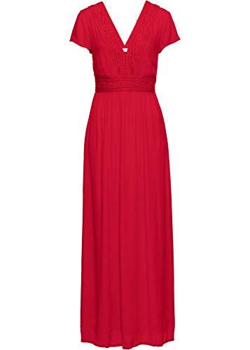 bonprix Traumhaftes Sommerkleid mit gehäkelter Spitze Erdbeere 42 für Damen