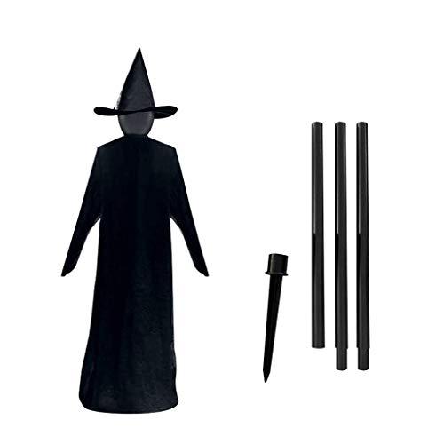 Halloween Witches Visiting Light-up Props 3 PCS/Set Halloween Control de Voz Inducción Luminoso 3 Personas tomados de la Mano Bruja, para casa encantada Accesorios de Fiesta Decoración Acc