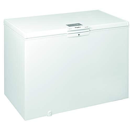 Whirlpool WHE39352 FO, Congelatore A Pozzetto, 390 L, Tecnologia FastFreezing, A++, Bianco