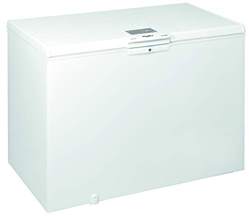 Whirlpool WHE39352 FO, Congelatore A Pozzetto, 390 L, 91,6x140,5x69,8 cm, Tecnologia FastFreezing, A++, Bianco