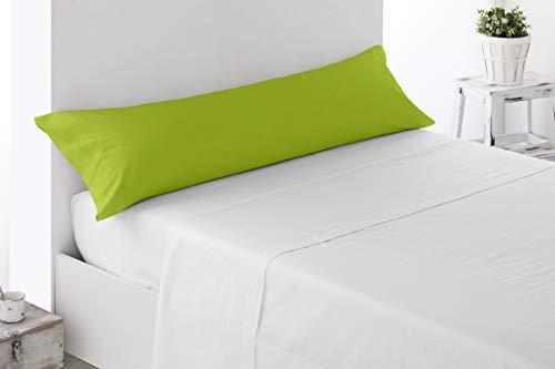Miracle Home Housse de coussin douce et confortable, 50 % coton, 50 % polyester, Pistache, 105 cm