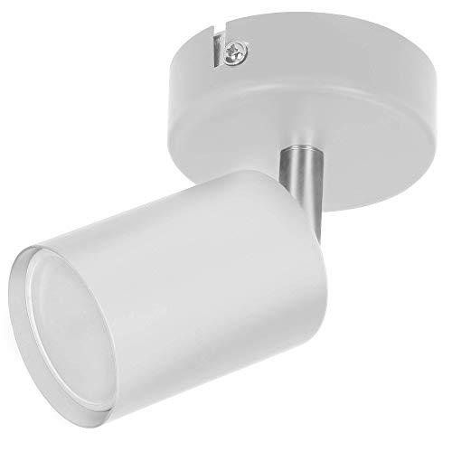 ORNO DOA SP 10 Strahler Deckenleuchte und Wandleuchte Spot GU10 max. 35 W, IP20 (Weiß)(Glühbirne separat gekauft)
