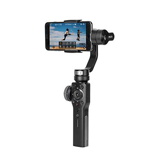 GHKL Liscia 4 3-Axis Palmare Cardanico Stabilizzatore Portatile Fotocamera Montare Per Smartphone Iphone Action Camera