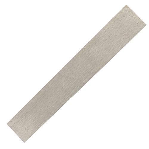 Nickel-Anode - 152 mm x 25 mm x 1 mm, 99,6% reines Nickel-Elektrodenblatt für DIY-Vernickelung und Nickel-Galvanisierung, hochreine Nickel-Elektrode