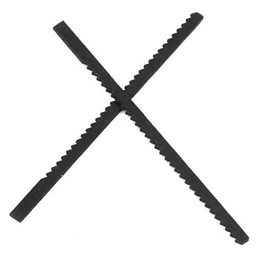 10 Stück Z060 Stichsägeblatt , Stichsägemaschinen Zubehör Gerade Schnitte zum Pressen des Werkstücks von beiden Seiten auf den Stichsägetisch zum Sägen des Werkstücks