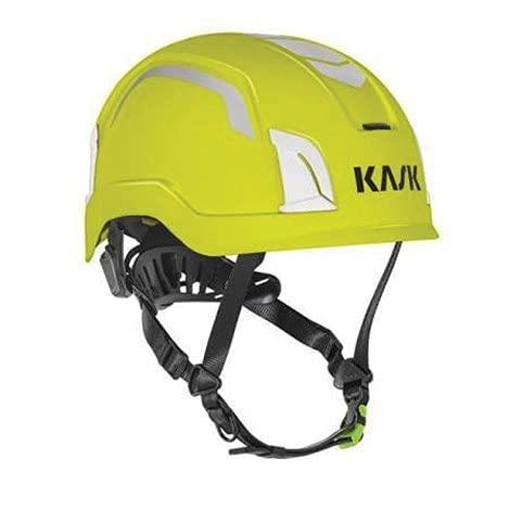 KASK Zenith X WHE00083.221 Amarillo Fluorescente HD Polipropileno ANSI Z89.1 Clase E Tipo 1 Casco ⭐