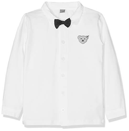 Steiff Baby-Jungen 1/1 Arm Hemd, Weiß (Bright White|White 1000), 80