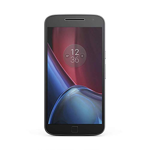 Motorola Moto G4 Plus XT1642 4G LTE Dual SIM Factory Unlocked No Warranty Octacore (NO CDMA) 5.5 Inches (Black, 16GB)