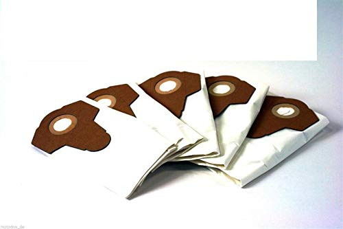 5 sacchetti per aspirapolvere sacchetti per aspirapolvere PARKSIDE Lidl bagnato asciutto aspirapolvere PNTS 1250, 1300, 1400, 1500 A1, B1, B2, B3, C1, C3, D1, E2, tutti i modelli