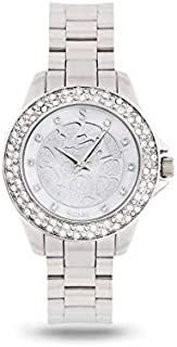 Sunex Women's Silver Dial Stainless Steel Band Watch, S6508SW