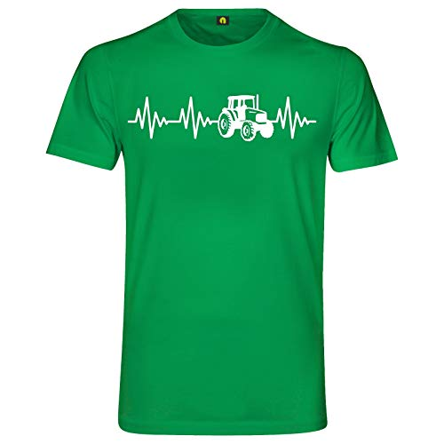 Herzschlag Traktor T-Shirt   Trecker  ...