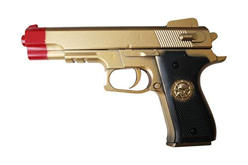 APEL PLASTIK S.r.l. Pistola Giocattolo a Pallini, Pistola BB Bullets, Calibro 6 mm, Inclusi Dardi (N126)