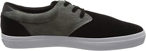 Globe Herren Winslow Skateboardschuhe, Schwarz (Black/Charcoal/White 10094), 44.5 EU