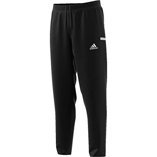 adidas Team 19 Pantalon de randonnée Homme, Noir/Blanc, M