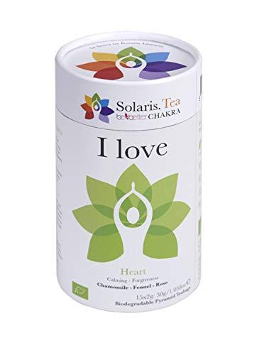 "\""I love\"" BIO Tee - Be Better CHAKRA Yoga by Kerstin Linnartz, 15x biologisch abbaubare Teebeutel, (1 x 30 g)"