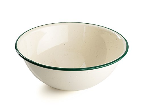 GSI Outdoors Deluxe Enamelware Bowl, unisexe adulte, crème, taille unique