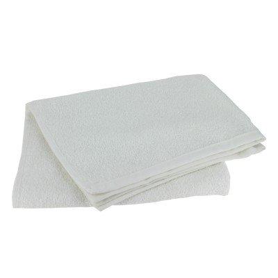 Serviette Schwarzkopf Special Coiffeur 100% Coton 50 x 90 Cm Premium Qualité (Blanc, 12)